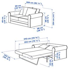 GRÖNLID sleeper sofa is extra deep, super easy to fold out – and has a thick bed mattress to make it extra comfortable to sleep on. Sofa Back Cushions, Deep Seat Cushions, At Home Furniture Store, Modern Home Furniture, Mattress Covers, Foam Mattress, Sleeper Sofa, Sofa Bed, Convertible 2 Places