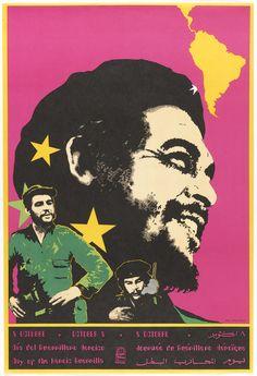 """Poster, """"Che Guevara: Day of the H"""", Communist Propaganda, Propaganda Art, Cuba, Don Delillo, Ernesto Che, Protest Posters, Political Art, Power To The People, Poster S"""