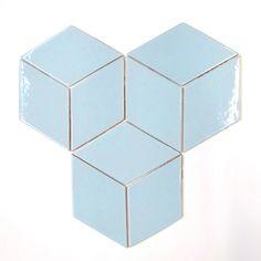Large Diamonds - 45R My Blue Heaven from Mercury Mosaics Workshop for $21.70