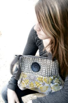 Handbag Purse Everyday Bag  Katelyn by cayennepeppybags on Etsy, $70.00