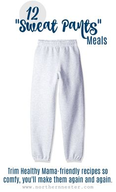 "12 ""Sweat Pants"" Mea"