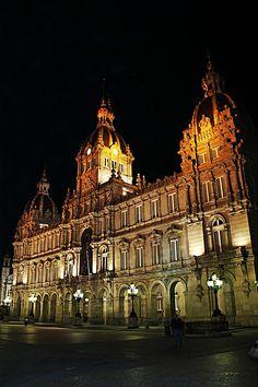 María Pita, La Coruña. Galicia. Spain