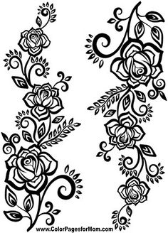 Flower Coloring Page 74