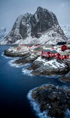 Hamnøy Island, Lofoten, Norway