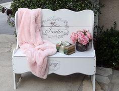 Pretty French garden bench