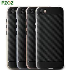 PZOZ 테크 Mi5 케이스 실리콘 커버 원래 5 고급 충격 방지 슬림 보호 전화 쉘 샤오 미 테크 Mi5 프로 프라임 5.15