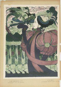 Georges [pseud. di Georges Joseph van Sluijters] De Feure (Parigi, 1868 - 1943)