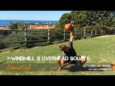 Windmill and Overhead Squats - Kettlebell Movement