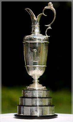 The Claret Jug Trophy ~ The Open Championship / British Open. And the champion golfer of the year is........