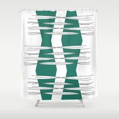 Buy Shower Curtains featuring Intersections by Mindssgreen. Made from easy care polyester our designer shower curtains are printed in the USA and feature a 12 button-hole top for simple hanging. Button Hole, Shower Curtains, Cosy, Printed, Simple, Stuff To Buy, Prints
