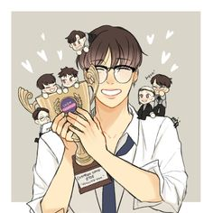 Btob, Yook Sungjae, Lee Minhyuk, Im Hyunsik, Lee Changsub, Cube Ent, Chibi, Fan Art, Drawings