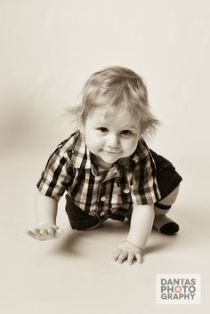Baby Photography #Cute #StudioFun