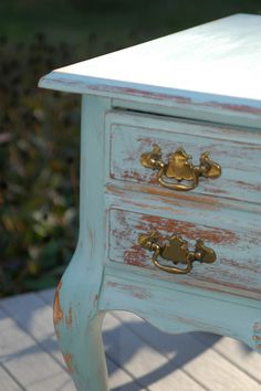 night stand in Duck Egg Blue idea for master br