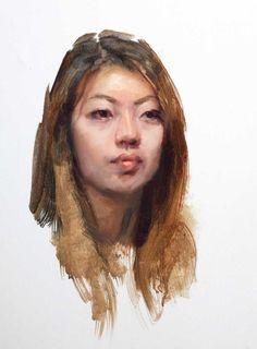 Surbin, oil painting portrait louis smith