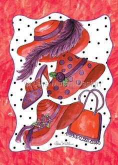 Hats and Purses and Shoes