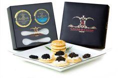 "OVERNIGHT GUARANTEED! C&C ""International"" Gourmet Caviar Gift Basket - 1oz Royal Osetra - 1oz Wild American Hackleback Sturgeon - 2 Spoons - 36 pcs Russian Blini - http://www.fivedollarmarket.com/overnight-guaranteed-cc-international-gourmet-caviar-gift-basket-1oz-royal-osetra-1oz-wild-american-hackleback-sturgeon-2-spoons-36-pcs-russian-blini/"
