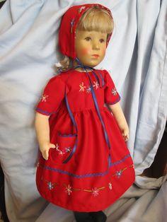KLEID+HUT bestickt Federstich mit Knötchen paßt KK-Puppe 52 cm UVP 24,90 Euro in Antiquitäten & Kunst, Antikspielzeug, Puppen & Zubehör | eBay!