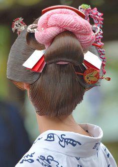 Korean Hairstyles Women, Japanese Hairstyles, Asian Men Hairstyle, Asian Hairstyles, Men Hairstyles, Updo Hairstyle, Updo Styles, Hair Styles, Traditional Hairstyle