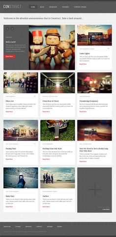 A smart, professional and versatile premium WordPress theme with a responsive grid design