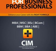 Exemption for business professionals MBA MSC BSc