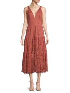 руб.231.0. DRESS THE POPULATION Dress Madelyn Plunging Lace Midi Dress #dressthepopulation #dress #mididress #clothing Dress The Population, Lace Midi Dress, Prom Dresses, Formal Dresses, Luxury Fashion, Clothes For Women, Model, Zero, Style