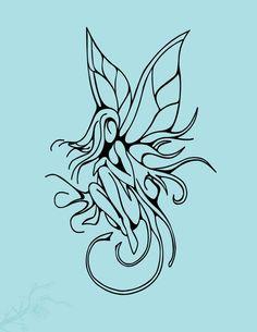 abstract fairy tattoo | Fairy Tattoo by ~vision5 on deviantART