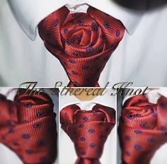 Knot by Boris Mocka Pocket Square Folds, Pocket Square Styles, Cool Tie Knots, Cool Ties, Tie Knot Styles, Fancy Tie, Tie Pillows, Tie A Necktie, Gentlemen Wear