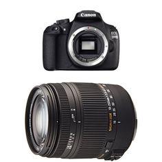 Canon EOS 1200D SLR-Digitalkamera Gehäuse schwarz + Sigma 18-250 mm Objektiv - http://kameras-kaufen.de/canon/canon-eos-1200d-slr-digitalkamera-18-megapixel-c-7-2
