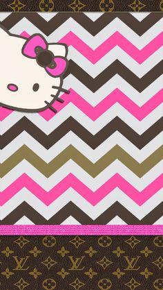 Christmas chevron graphics pinterest hello kitty kitty and pretty walls lv hello kitty freebie enjoy voltagebd Image collections