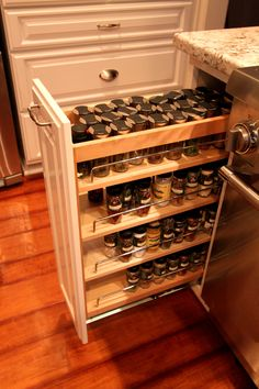 Bed Bath And Beyond Spice Rack Cool Pull Out Spice Rack  Kitchen  Pinterest  Walls Kitchens And House Review