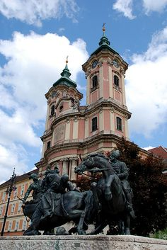 Eger, Hungary | by Kathy Perry Most Beautiful Cities, Amazing Places, Budapest Travel Guide, Heart Of Europe, Danube River, Central Europe, Eastern Europe, Homeland, Croatia