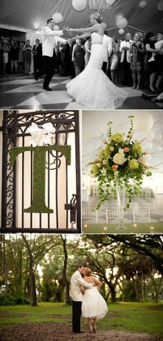 Cream White Gold Old Florida Wedding In South Tampa Yacht Club Photographer Blue Lane Studios 56 Etched M