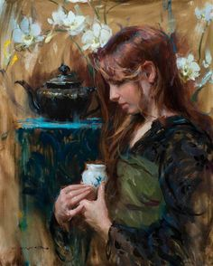 View original oil paintings by Daniel Gerhartz, a living master of American painting.