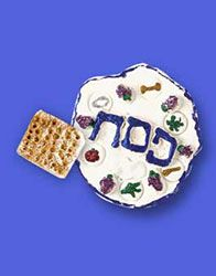 Crayola Model Magic Seder Plate