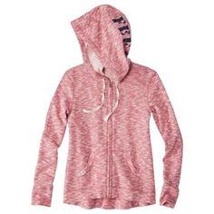 FEED for Target® Women's Longsleeve Hooded Sweatshirt -Red Target Style, Pink Zip Ups, Grey Sweatshirt, Style Guides, Hooded Sweatshirts, Hoods, What To Wear, Hooded Jacket, Dress Up