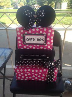 Minnie Mouse theme card box