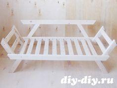 Мебель из дерева своими руками. Чертежи, схемы. Диван кровать