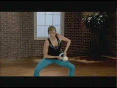 Kathy Smith Kettlebell Solution For Lower Body - YouTube