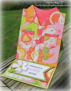 Luv Scrapping Together: A Wonderful Birthday ~ My Craft Spot Challenge