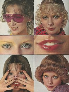 'Keep up with what's happening, what's current and now. Get the wiggiest wig or the zingiest polish.' (1971) #seventeen