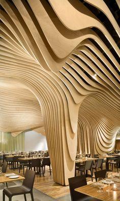 BANQ restaurant, Boston by Office dA - #architecture - ☮k☮ - #modern