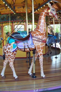 like menagerie as well as the horses, but I used to think the glass jewels were real! How sad we have to grow up!