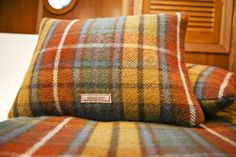 Totally Tartan soft furnishing in all our ensuite cabins