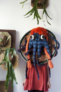 Shin Murayama, Octopus mask