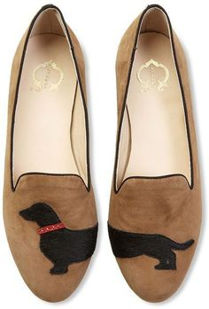 dachshund shoes @Tiffany Leasure #Dachshund