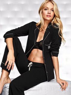 The Sleepover Cotton Pajama #VictoriasSecret http://www.victoriassecret.com/sleepwear/sleepwear/the-sleepover-cotton-pajama?ProductID=69112=OLS?cm_mmc=pinterest-_-product-_-x-_-x