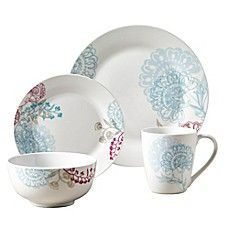 Tabletops Gallery® Emma 16-Piece Dinnerware Set