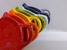 Teapot Teabag Holder Trinket Dish from my Charleston, SC studio - pinned by pin4etsy.com