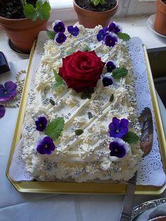 #leivojakoristele #mitäikinäleivotkin #täytekakku Kiitos Tuula