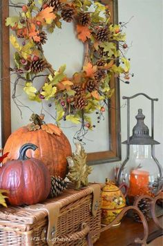 Inspiration for fall decorating, diy and baking from anderson + grant Diy Inspiration, Primitive Fall, Autumn Decorating, Decorating Tips, Fall Projects, Fall Harvest, Harvest Time, Fall Home Decor, Fall Wreaths